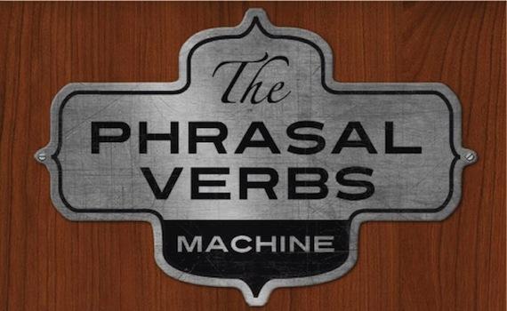 Los phrasal verbs se utilizan mucho en inglés.