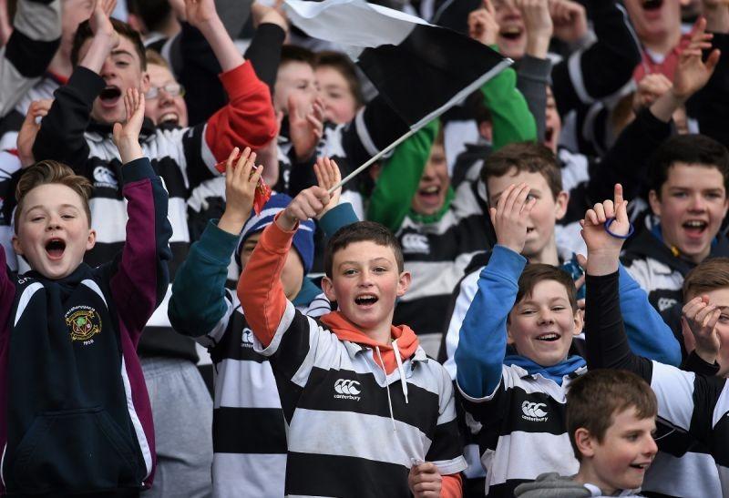 La práctica el rugby en el colegio es una de las cosas que más ha disfrutado Enrique en su año escolar en Irlanda.