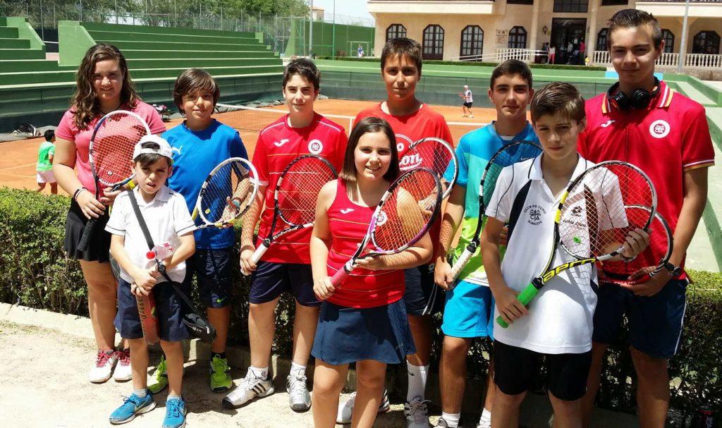 Participantes-en-el-Club-Tenis-Albacete