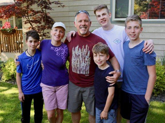 Convivencia con familias irlandesas