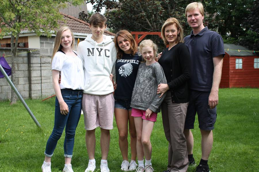 Familias irlandesas Año Escolar