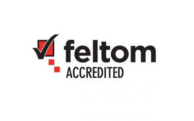Feltom Accreditation Logo